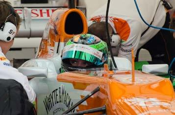 Lights 3rd place finish at Houston Tested Force India Formula
