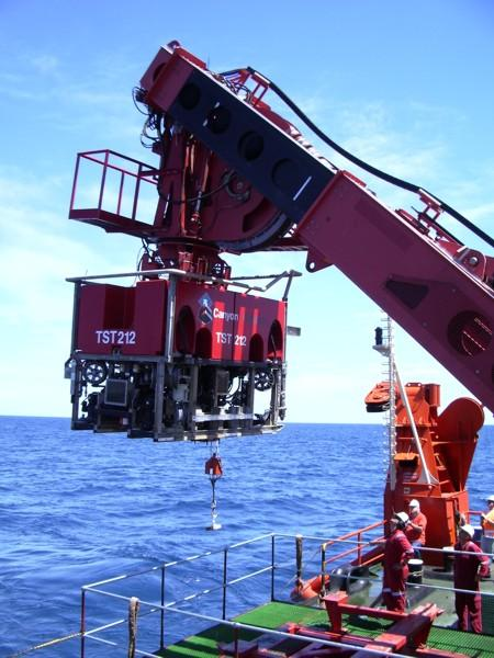Remotely Operated Vehicles (ROV) ROV Scales from hand deployed to multi-ton
