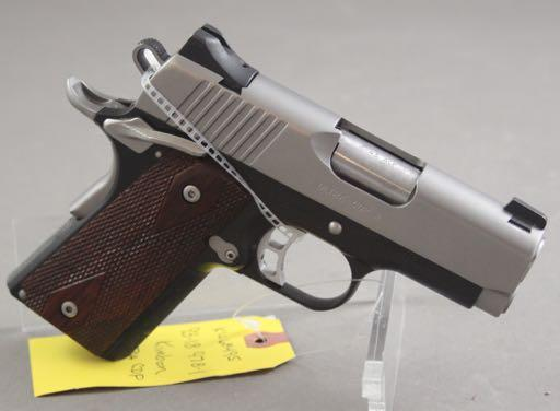 410806, IN KIMBER MODEL SUPER MATCH II.