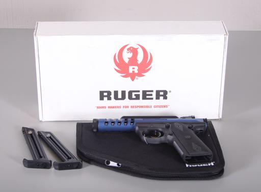 CALIBER PISTOL SN: 053210, INCLUDING 2 MAGAZINES,