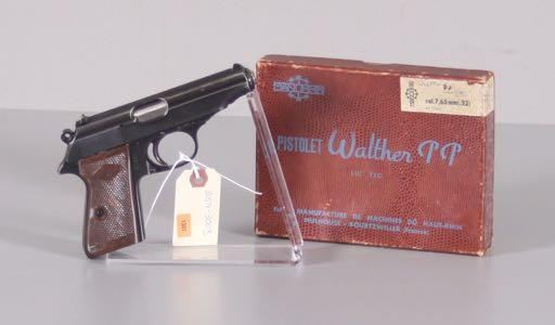 """WALTHER"" MODEL PPK/S 9MM PISTOL SN: 266439 FN"