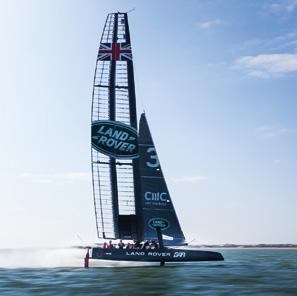 Sporting Challenge In the lead up to the America s Cup in Bermuda in 2017 all six teams - the defender OTUSA plus five challengers from New Zealand, Sweden, Japan, France and the UK - can collect