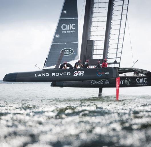 10th/11th September - Toulon 18th/20th November - Fukuoka Land Rover BAR will launch their America s Cup Class race boat in Bermuda on 27th December 2016.