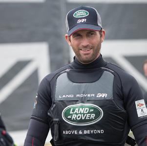 8 weeks, Ben Ainslie hits the button and launches his British challenge 2014 10 June - Official launch of BAR in the presence of HRH The Duchess of Cambridge 1 July - 6.
