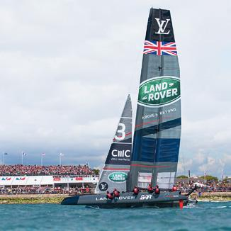 The BBC will feature race highlights; this is the first rights sale for live sailing in the UK 11 May - BAR launch the new AC45F - their ACWS foiling catamaran, in preparation for the first event in