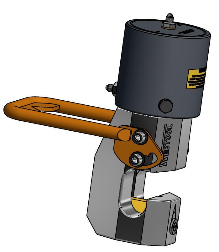 Webtool handle kit - Part number 999023 is available for this cutter and is shown below.
