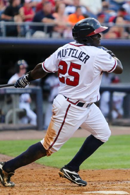 THE INTERNATIONAL LEAGUE Ronnier Mustelier was selected to the 2016 Triple-A