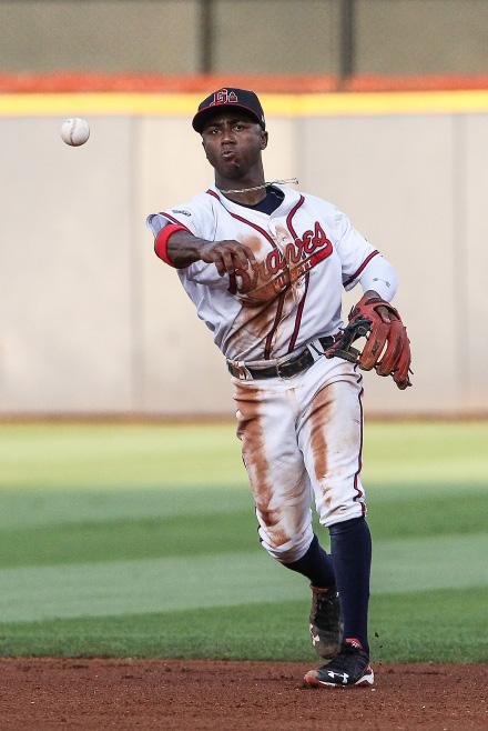 THe 2017 Gwinnett Braves Ozzie Albies, rated Atlanta s No. 2 prospect for 2017 by MLB.