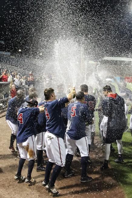 TEAM HISTORY The G-Braves celebrated their first-ever trip to the Governors Cup