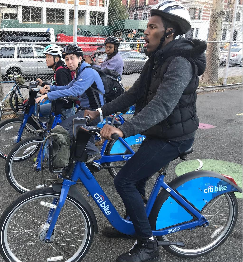 Citi Bike for Youth supports my organization s goals! FREE! Increase program participation at CBO.