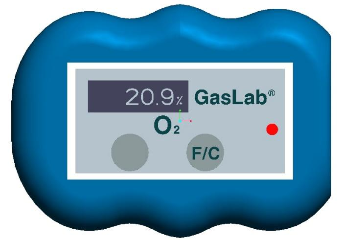 GasLab SAN-102 Micro Oxygen Monitor User Manual The GasLab SAN-102 is a wearable, personal safety meter designed to monitor ambient oxygen levels in real time.