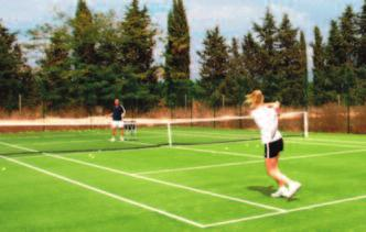 The Sports Club 6 astro courts Fully equipped fitness centre Villa with pool The Highlights Accommodation, Food and