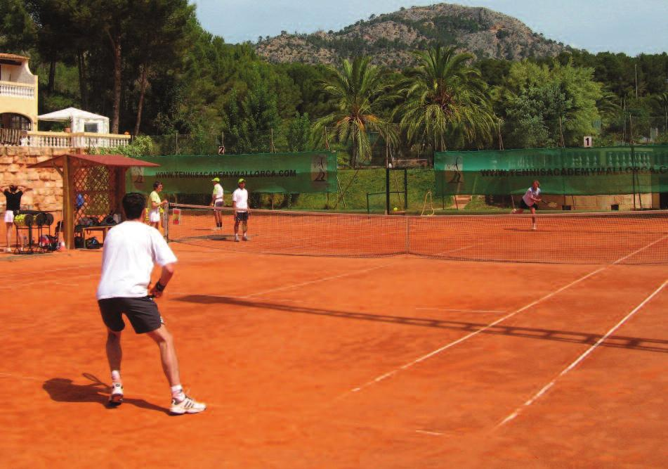 Mallorca - Park Club Mallorca is one of the most popular tennis destinations in Europe.