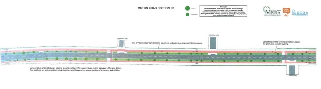 Do Optimum: Section 4 Considerations: Anticipated queues likely to require space for bus lanes.