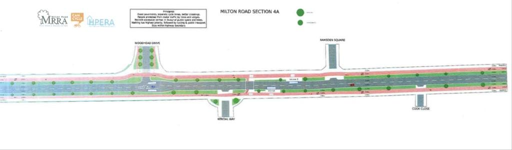 Do Optimum: Section 5 Considerations: Anticipated queues likely to require space for bus lanes.