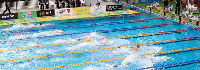 KEY MILESTONES BENCHMARK EVENTS 2017/18 2017 FINA WORLD SWIMMING CHAMPIONSHIPS 14-30 July 2017 Danube Arena, Budapest, Hungary 2017 HANCOCK PROSPECTING AUSTRALIAN SHORT COURSE CHAMPIONSHIPS 26-28