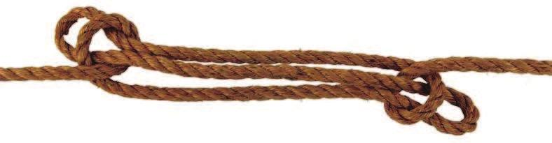 Other Knots Sheepshank The Sheepshank is intended to shorten a rope for temporary use only. Carefully tied and drawn up tight, it is fairly reliable under a steady pull.