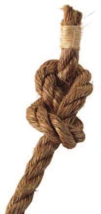 (1 Corinthians 12:12) Stopper Knots Stopper knots are used to prevent a rope from sliding or being pulled through an