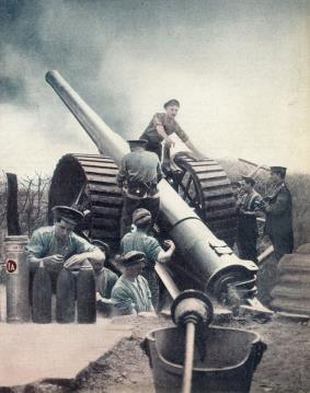Slide 23 The Pre War Artillery Revolution By 1910 the armies of all the major European powers had discarded their mechanical- recoil field guns and had brought new hydraulic recoil weapons into