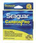 Fluorocarbon Fishing Line (Red Label brand). Seaguar introduces Big Game Leaders.