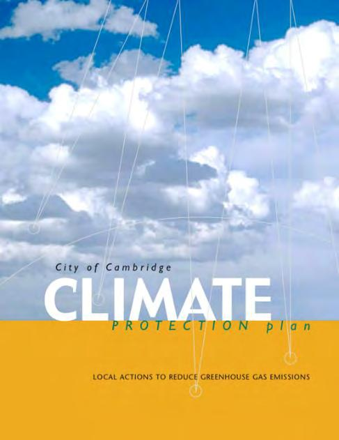 2002: Climate Protection Plan 2007: Growth Policy Document