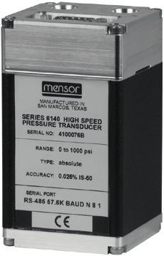 Calibration technology High-speed pressure sensor Model CPT6140 WIKA data sheet CT 25.