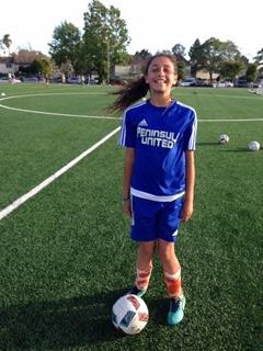 "Peninsula Girls Player of the Month Peninsula would like to congratulate Chianti Raddavero- known as ""Curly"" for being selected at the PYSC s Girls Player of the Month!"
