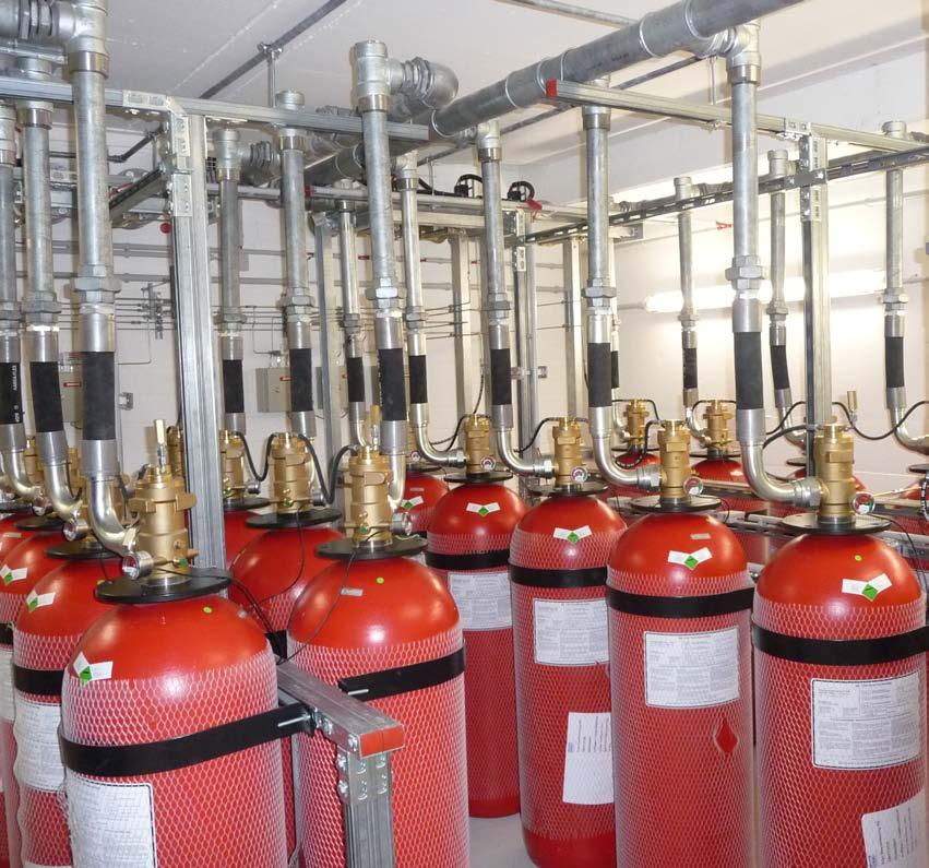 Applications of clean agent systems Clean agents have many advantages Protection of sensitive