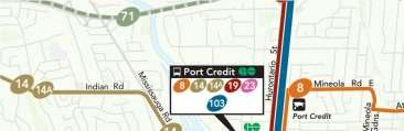 brings rapid transit to Port Credit, linking