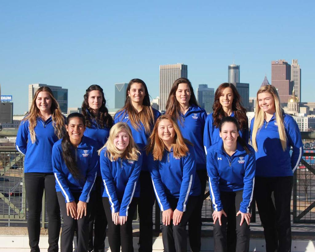Fall Academic Honors With nine of 10 members of the Georgia State women s golf team earning academic honors, the Panthers finished the fall with a 3.