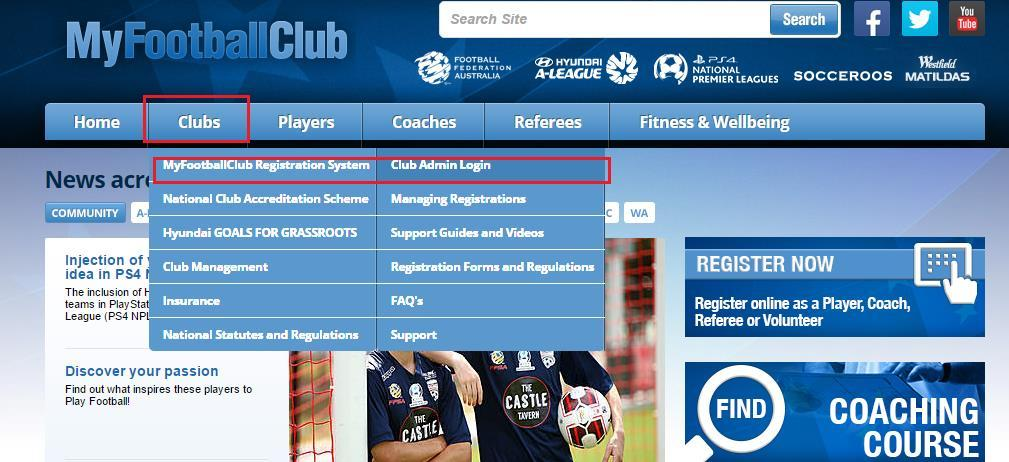 How To Set Up Your Club in 2018 Our Details Prior to Club Setup we advise that you determine the following: Step 1 Do you intend to allow your players to pay online?