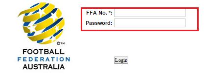 Then Enter your FFA number and Password Step 2 - Season Set-Up Page The following screen is the list of set up options required