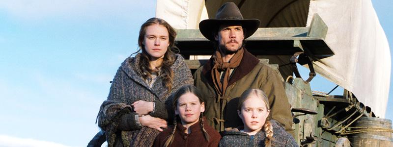 "Based on the popular ""Little House"" book series by Laura Ingalls-Wilder, the series followed the frontier lives of Charles and Caroline Ingalls, and their three young daughters: Mary, Laura and"