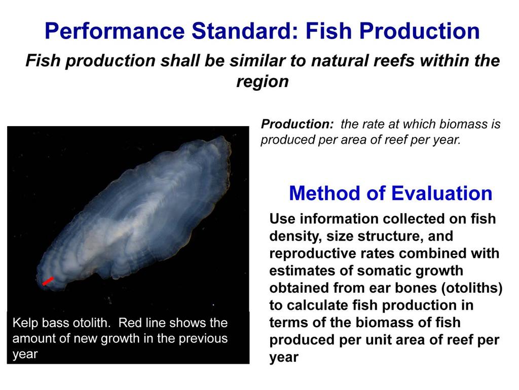 There is also a standard for fish production.