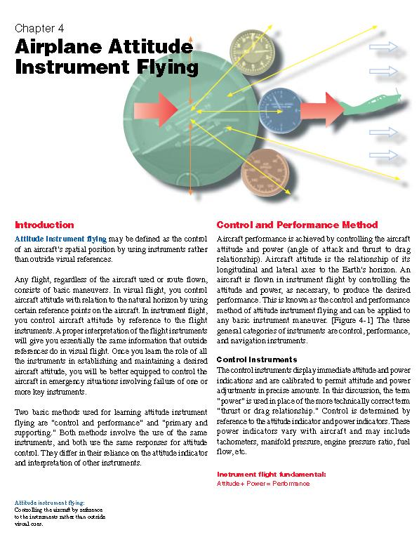 Instrument Flying Source Information FAA Instrument Flying Handbook Origins routed back to FAA?
