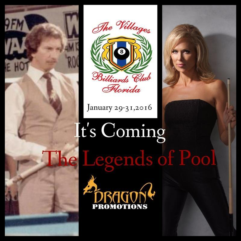 FLORIDA BILLIARDS EXPO January 28 th to 31 st <> La Hacienda Regional Center, The Villages,