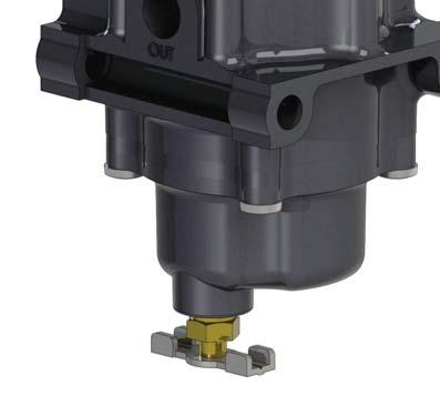 These rugged regulators are easily inspected and serviced because of their one-piece valve plug assembly and easy access integral filter.