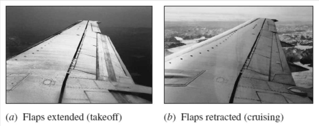 One way to change the lift and drag characteristics of an airfoil is to change the angle of attack.