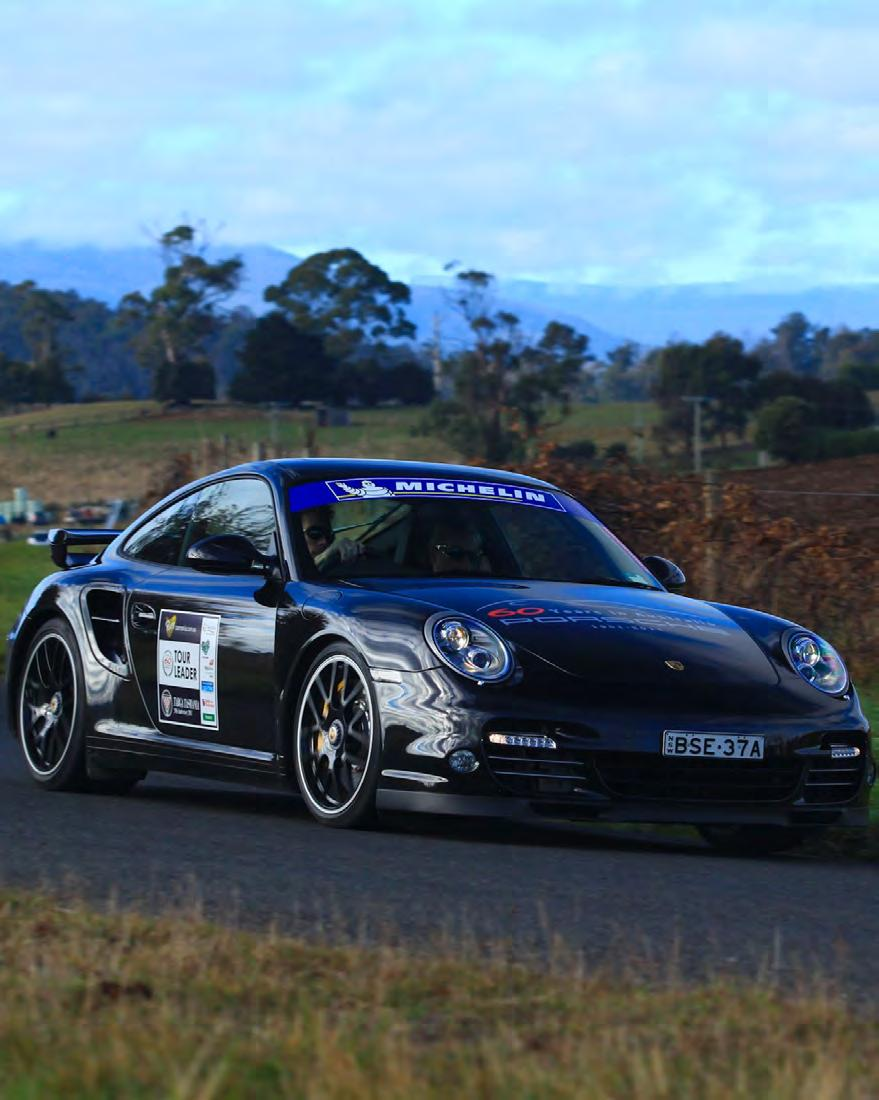 The journey awaits. 2011 saw the inaugural Porsche Targa Tour join the famous Targa Tasmania Rally, and the event was a resounding success.