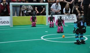 org Robocup soccer software: http://sourceforge.