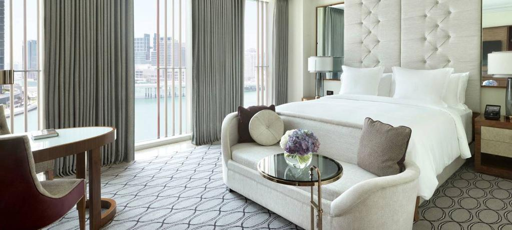 FOUR SEASONS ABU DHABI Available for Premier, Champion, Paddock Club & Legend Packages In a vibrant urban community right on the water, Four Seasons Hotel Abu Dhabi at Al Maryah Island welcomes you
