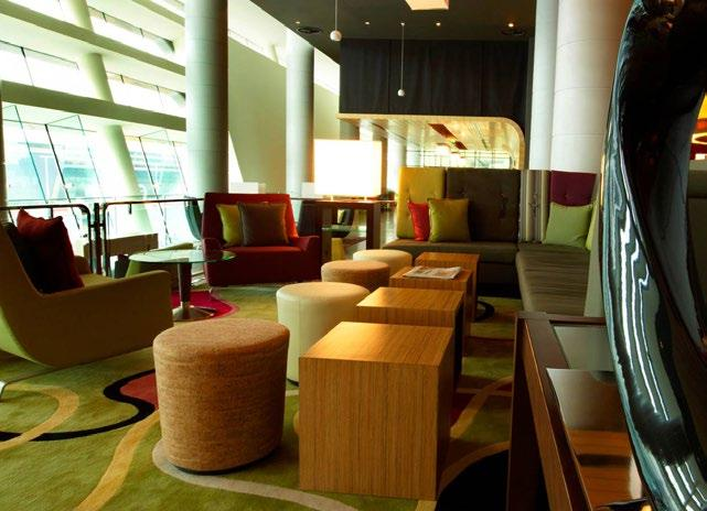 ALOFT ABU DHABI Available for Starter, Trophy & Hero Packages Situated just a short spin away from downtown, Aloft Abu Dhabi is 15 minutes by car from Abu Dhabi International Airport and 25 minutes