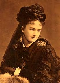 ELIZABETH LIBBY BACON CUSTER was the adoring wife of Col. George Armstrong Custer, commander of the 7th Cavalry during the Great Indian Wars.