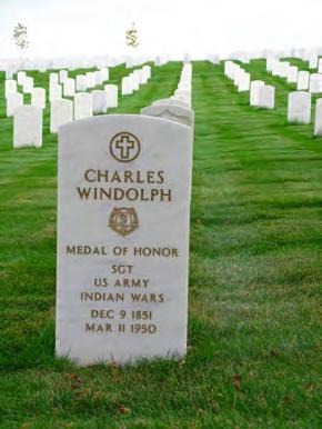 And by 1876, Windolph was a soldier himself in Custer s 7 th Cavalry, no less! On June 26, 1876, Windolph who had risen to the rank of Sergeant rode into the Little Big Horn Valley.