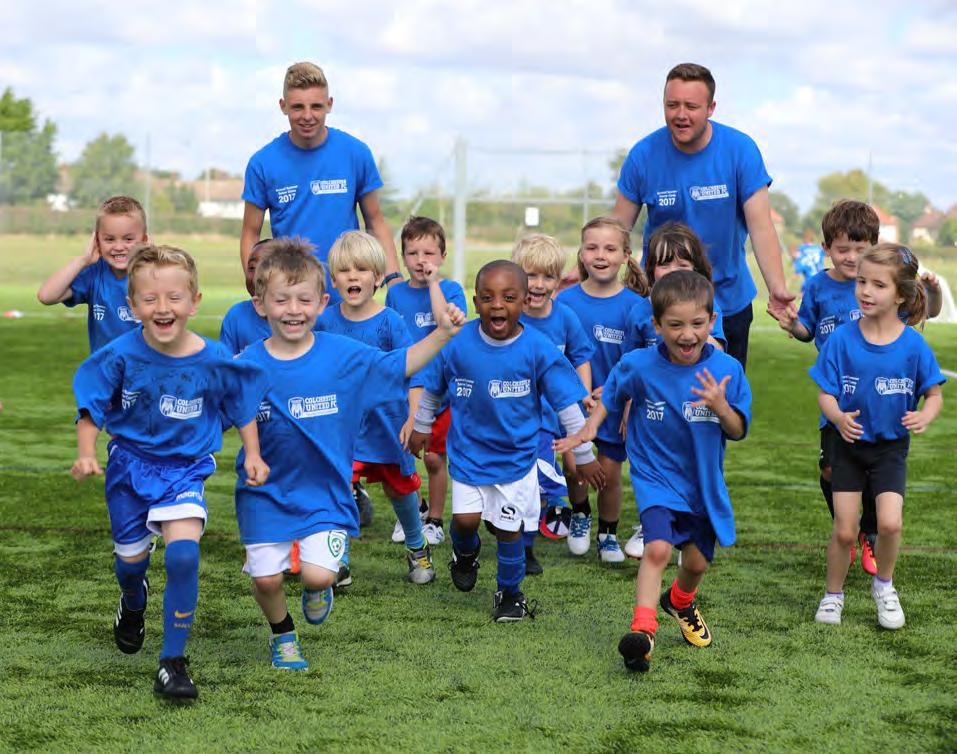 Colchester United s Football in the Community