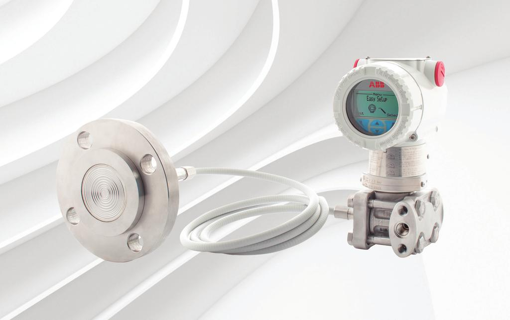 ABB MEASUREMENT & ANALYTICS WHITE PAPER Pressure measurement Applying remote seal, isolation diaphragms between process fluids and transmitters Remote seals protect transmitters when measuring
