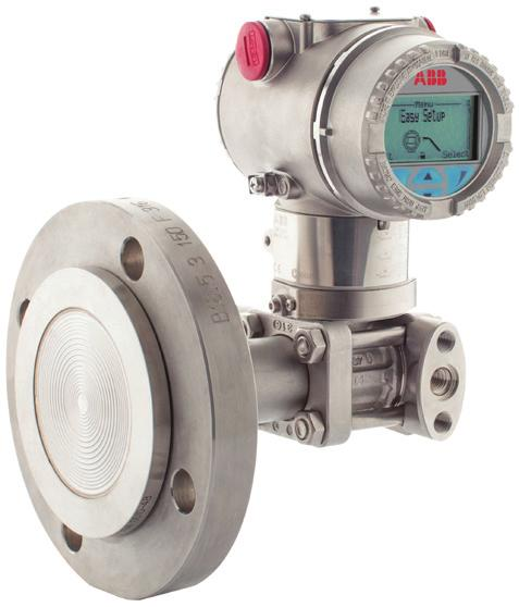 2 Pressure measurement APPLYING REMOTE s WP/PRESSURE/001-EN Remote seals Depending upon the measured variable and mounting considerations, the remote seal connection can be assembled to either the gh