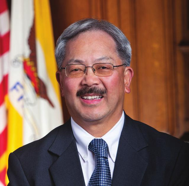 MESSAGE FROM MAYOR ED LEE Dear fellow San Franciscans, Our philosophy and approach is simple: no loss of life on our streets is acceptable.