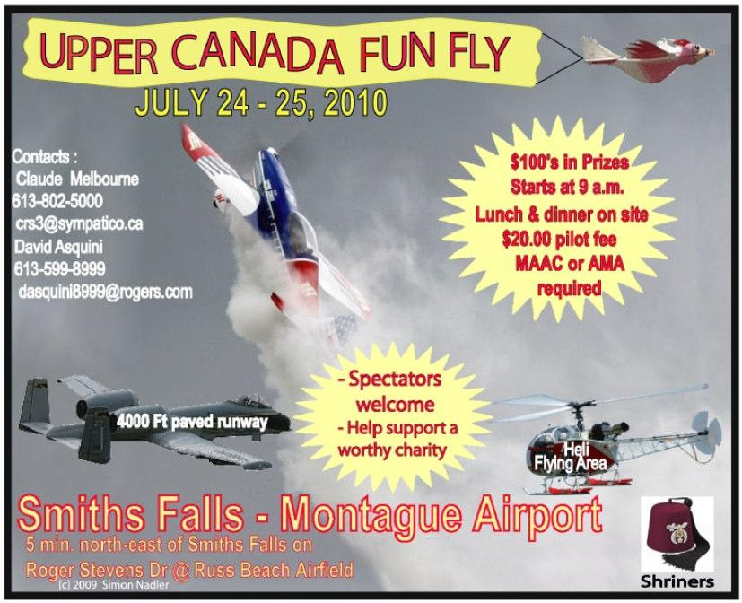 & %% The Annual ORCC Warbird Fun Fly is back for 2010 by popular demand.