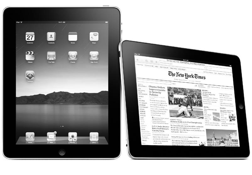 4 NEWS Apple offers new ipad, claimed best product yet JEN CHENEY Staff Writer At first the iphone was a revolution, but now Apple thinks they have come up with something better: the ipad.